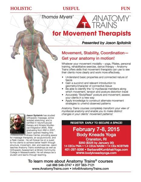 Anatomy Trains For Movement Feb 7 8